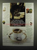 1996 Gevalia Coffee Ad - Became A Perfect Cup