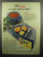 1948 Kraft Parkay Oleomargarine Ad - Make Toast