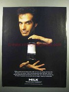 1997 Milk Ad - David Copperfield - Where's Mustache?