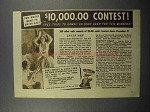 1935 Libby's Pineapple Juice Ad - $10,000 Contest