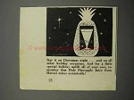 1938 Dole Pineapple Juice Ad - Star it On Christmas