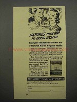 1941 Sunsweet Tenderized Prunes Ad - Good Health