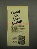 1952 Sunsweet Prunes Ad - Good To Feel Good