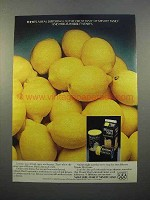 1983 Minute Maid Lemonade Ad - A Real Difference