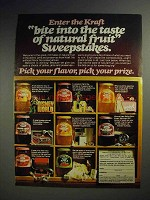 1978 Kraft Jellies, Jams and Preserves Ad - Bite Into
