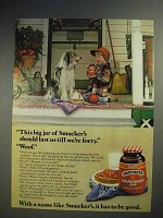 1978 Smucker's Strawberry Jam Ad, Last Till We're Forty