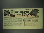 1938 Sperry Pancake and Waffle Flour Ad - Peasant Apron