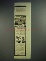 1938 Sperry Pancake and Waffle Flour Ad - Franciscan