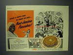 1941 Aunt Jemima Pancake Mix Ad - Start de Day!