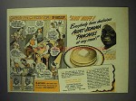 1943 Aunt Jemima Pancake Mix Ad - Mother's Dream