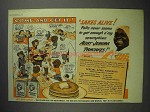 1943 Aunt Jemima Pancake Mix Ad - Come and Get It