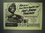 1948 Aunt Jemima Pancake Mix Ad - Happifyin' Light