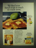 1972 Aunt Jemima French Toast Ad - We Made Some