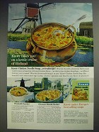 1963 Knorr Chicken Noodle Soup Ad - Cruise of Holland