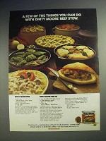 1978 Dinty Moore Beef Stew Ad - A Few of the Things