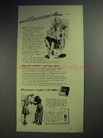 1943 Kotex Sanitary Napkin Ad - I Promised Mom