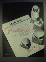 1980 Elizabeth Arden Millenium Skin Care Products Ad