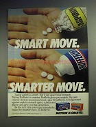 1983 Bufferin Ad - Smart Move. Smarter Move!