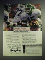 1990 Rogaine Hair Loss Treatment Ad - Knowing When