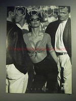 1990 Jordache Clothing Fashion Ad
