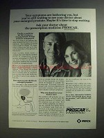 1993 Merck Proscar Prostate Medicine Ad - Still Waiting
