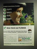 1997 GlaxoSmithKline Flonase Allergy Spray Ad!