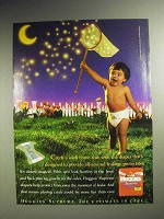 1998 Huggies Supreme Diapers Ad - Wish Come True