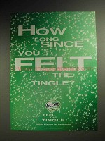 1999 Scope Mouthwash Ad - You Felt the Tingle?