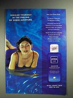 2000 Nivea Body Sheer Moisture Lotion Ad - Indulge