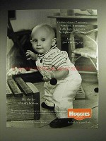 2001 Huggies Diapers Ad - Cabinet Doors: 7 Minutes