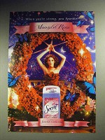 2003 Secret Deodorant Ad - Moonlit Rose