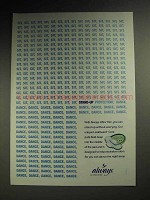 2004 Always Ultra Thin Pads Ad - Stand-Up