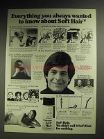1972 Brylcreem Soft Hair Dry Spray Ad - Wanted to Know