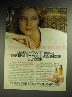 1980 Mary Kay Cosmetics Ad - Bring the Beauty Outside