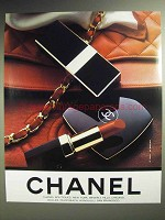 1989 Chanel Lipstick, Boutique Ad