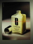1992 Clinique Dramatically Different Lotion Ad