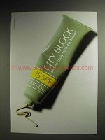 1997 Clinique City Block Daily Face Protector Ad