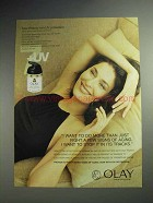 2001 Oil of Olay Total Effects with UV Protection Ad
