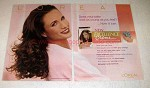 2002 L'Oreal Excellence Hair Color Ad - Andie MacDowell