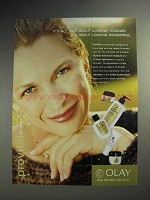 2002 Oil of Olay ProVital Ad - About Looking Wonderful