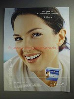 2004 Oil of Olay Clear Skin Cloths Ad - You Grew Up
