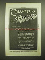 1921 Colgate's Ribbon Dental Cream Toothpaste Ad