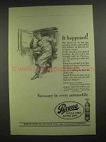 1923 Pyrene Fire Extinguisher Ad - It Happened!