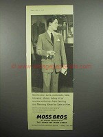 1958 Moss Bros Suit Ad!