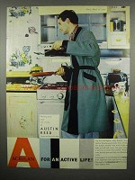 1959 Acrilan Dressing Gown by Austin Reed Ad