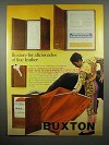 1970 Buxton Toreador Kid Wallet Ad - Fine Leather