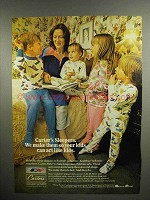 1973 Carter's Sleepers Ad - So Kids Can Act Like Kids