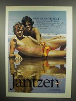 1975 Jantzen Swimwear Ad - Who Owns the Beach?