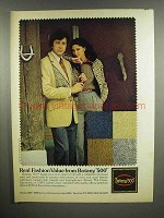 1978 Botany 500 Clothes Ad - Real Fashion Value