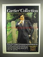 1979 Botany 500 Cartier Collection Clothes Ad